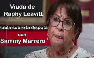 Viuda de Raphy Leavitt